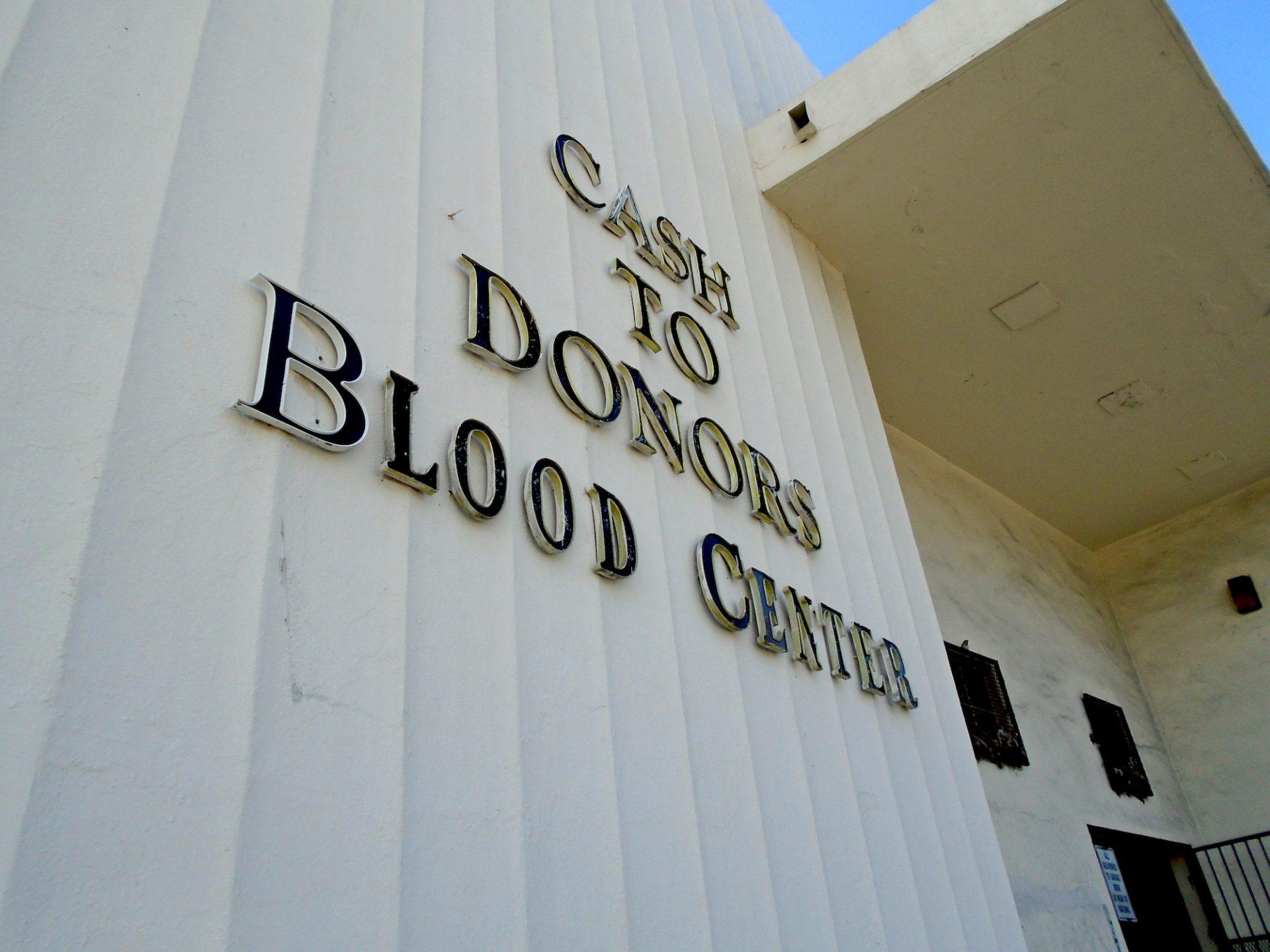 Blood for Cash